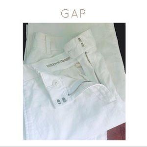 GAP White Linen Pants